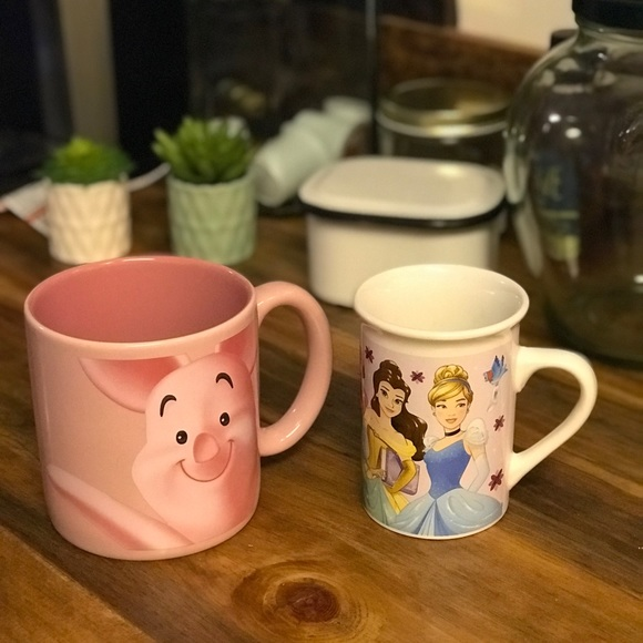 Disney/'s Aladdin Coffee Mug Disney Store Exclusive Castle 3D Jasmine Large